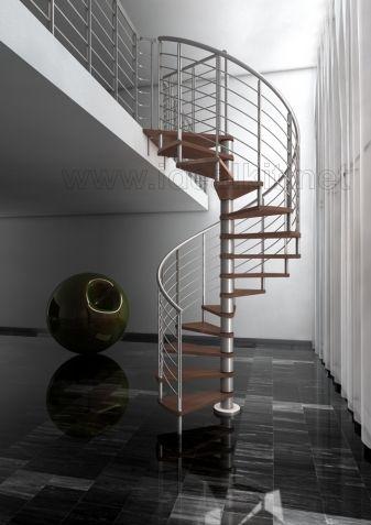 Escalera de caracol modelo inox escalera de caracol para - Modelos de escaleras de caracol para interiores ...