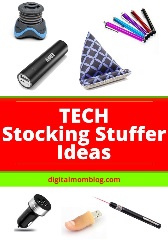 Tech Stocking Stuffers - find the best gifts for your geek's stocking
