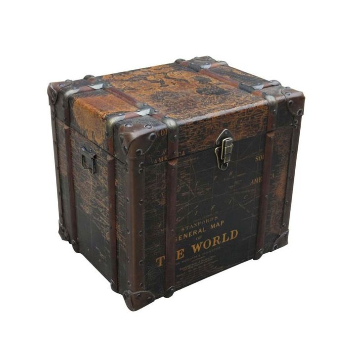 Moe's Home Collection - Gulliver'S Trunk End Table - ML-1007-01