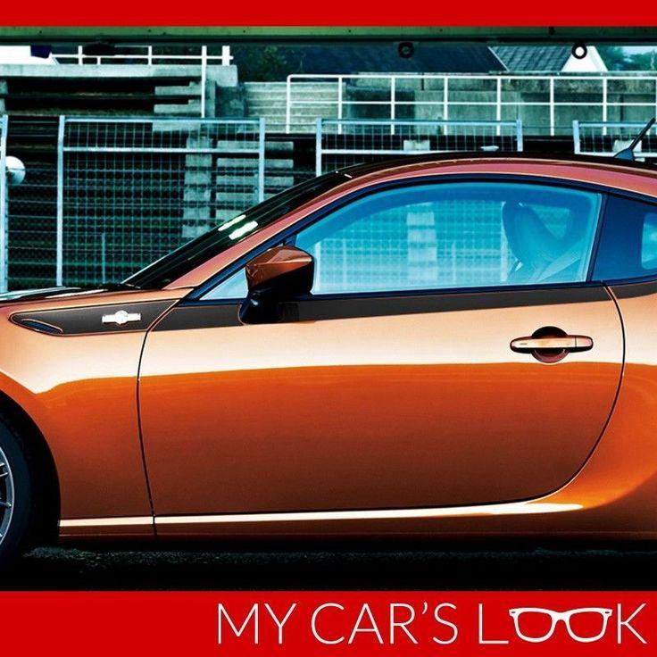 Toyota GT86, Scion FR-S, Subaru BRZ - side carbon decal #MyCarsLook