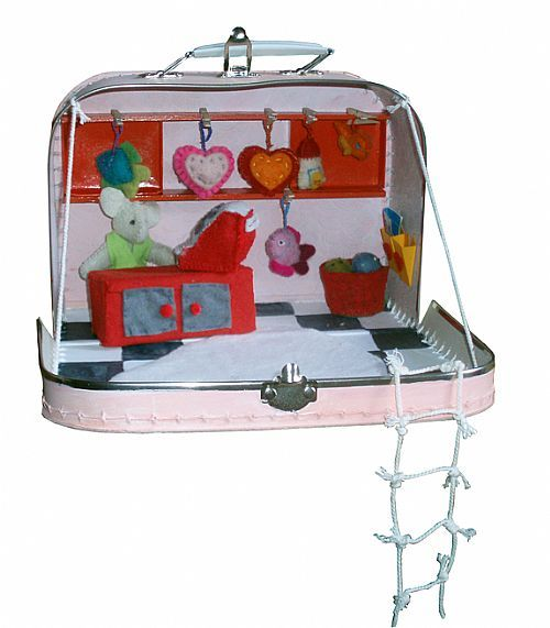 Muizenwinkel in een koffertje
