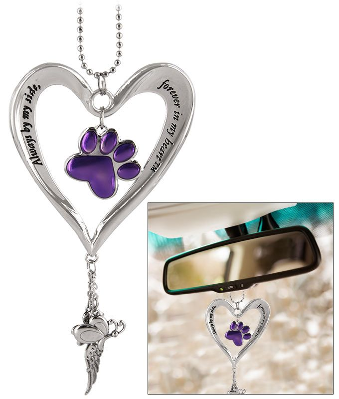 Check Out The Freekibble WonderFunder: Heart & Purple Paw Car Charm. For a limited time, every car charm purchased will donate $5 to help protect the Jaguars of Sky Island.