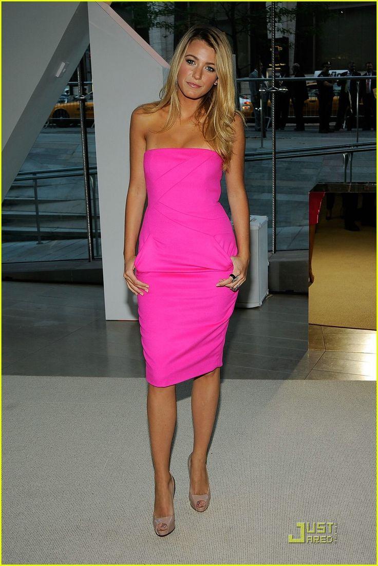 Pink Dress Black Heels