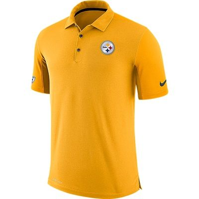 Pittsburgh Steelers Team Issue Polo - Mens: Pittsburgh Steelers Team Issue Polo - Mens