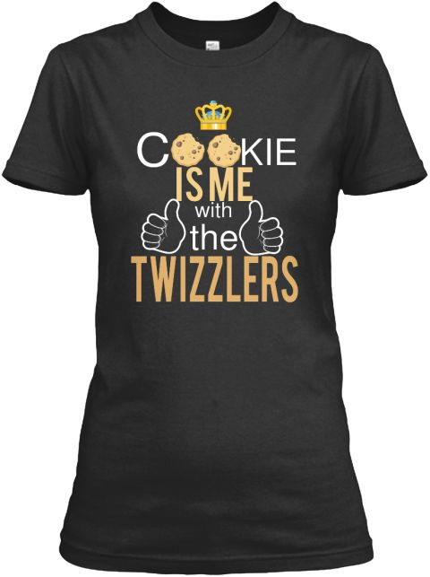 C Kie Is Me With The Twizzlers Black Women's T-Shirt Front #empire