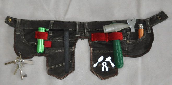 Werkzeuggürtel Pietje - Website von Vivi's Fancywork