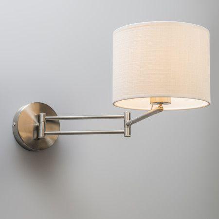 Wandlamp Combi staal verstelbaar