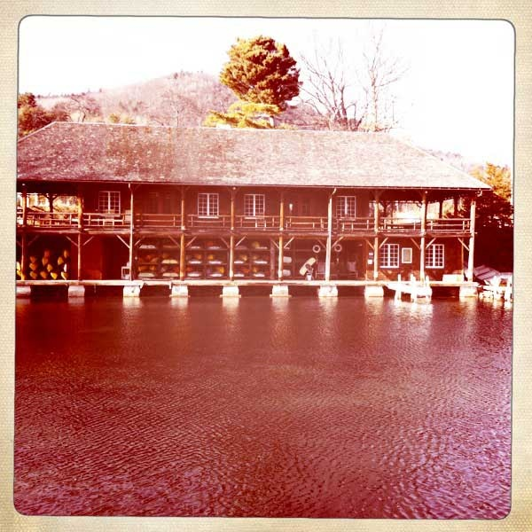 the boathouse, my serenity.