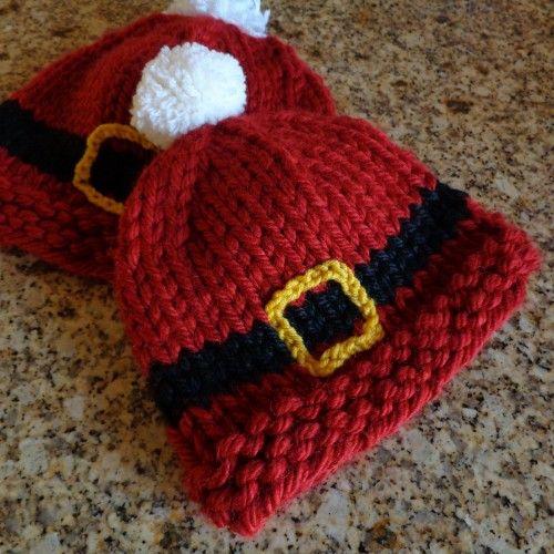 e25b707e7ba Ho Ho Hat - Free Pattern (Beautiful Skills - Crochet Knitting ...