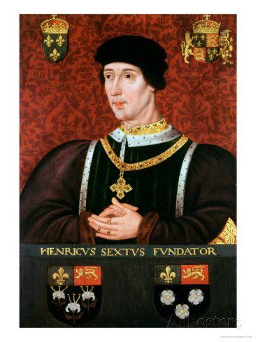 Portrait of Henry VI of England reproduction procédé giclée par Francois Clouet sur AllPosters.fr