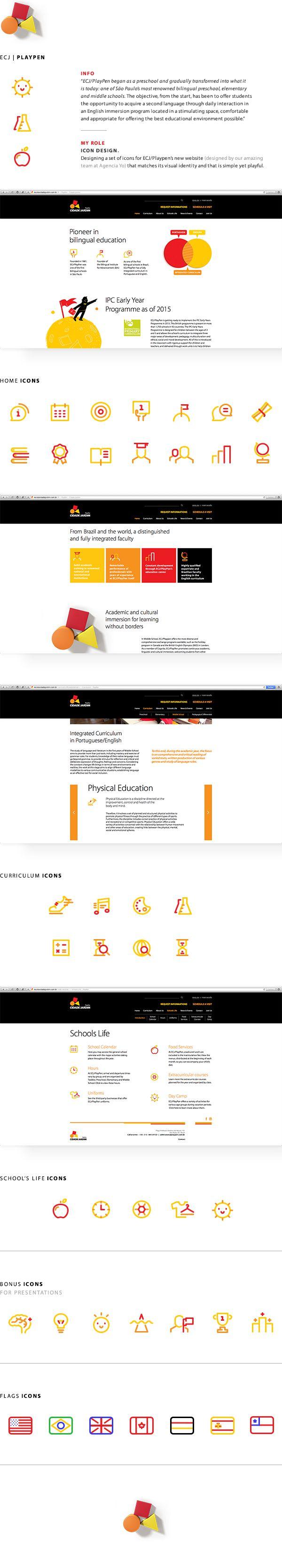 PlayPen Bilingual School on Behance