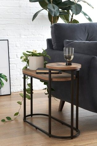 Buy Bronx Tiered Side Table / Bedside from the Next UK ...