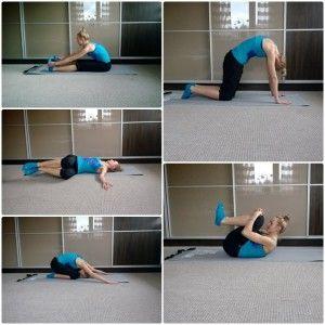 Tak jak obiecałam - do postu Zdrowy kręgosłup - na co należy zwróć uwagę, dokładam ćwiczenia. Pierwsza część to ćwiczenia wzmacniające przede wszystkim dolny odcinek pleców. Druga część -rozciąganie. O tym również musisz pamiętać, jeśli chcesz zadbać o swój kręgosłup. Ćwiczenia W tym planie powinna również znaleźć się deseczka, która nie tylko wzmacnia plecy, ale i cały ...