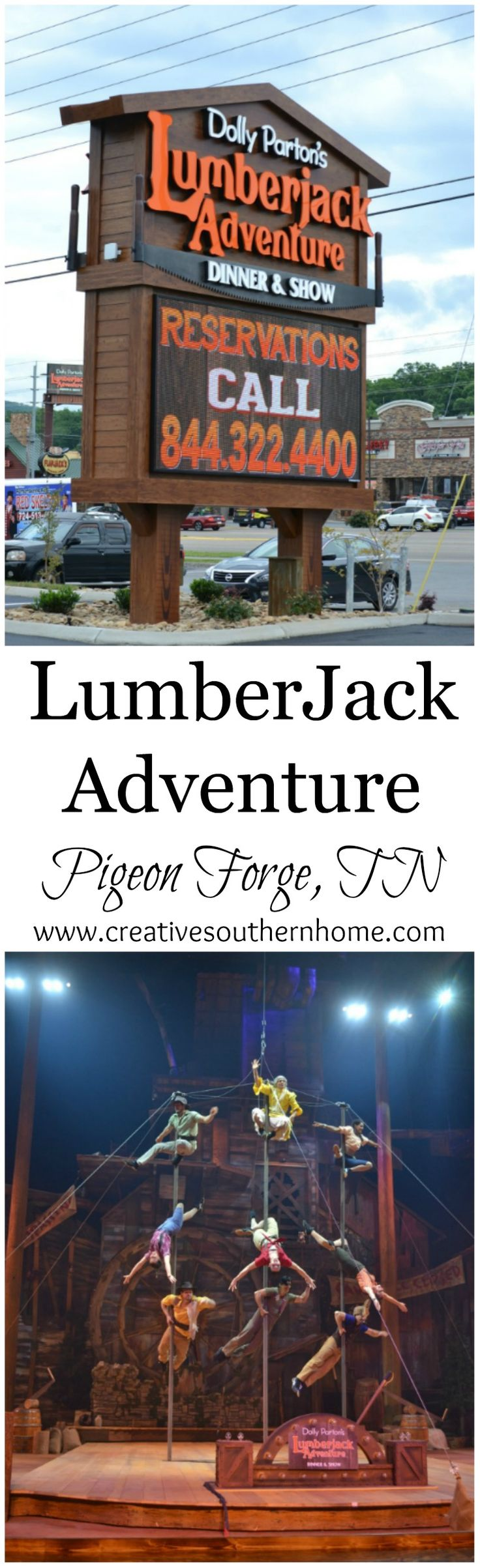 All you need to know to enjoy the Lumberjack Adventure dinner & show.