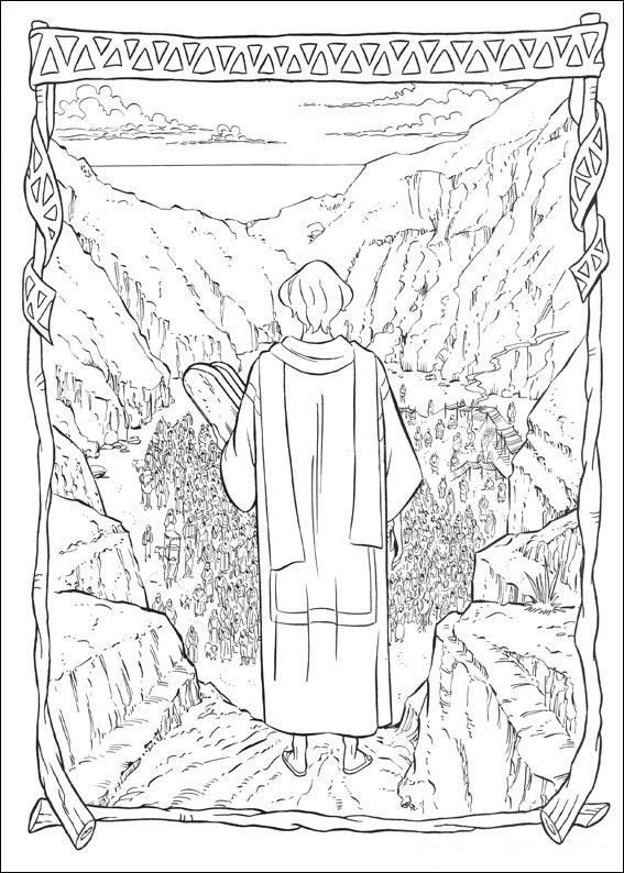 coloring page Prince of Egypt - Prince of Egypt