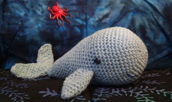 Blue Whale - Crochet Animal