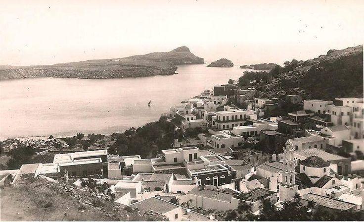 Ρόδος Lindos ... circa 1950