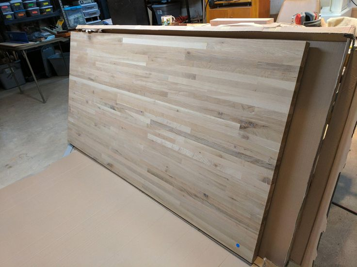 """Solid oak bench top 1.5""""x36""""x72"""" $190. I shopped long and hard for the best deal on a new workbench top this was by far the best http://ift.tt/2jlEk0G"""