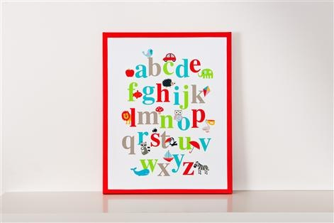 For Walls Alphabet Canvas