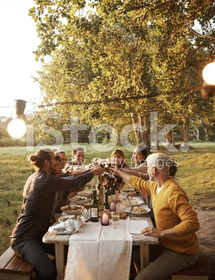 Picture perfect party royalty-free stock photo