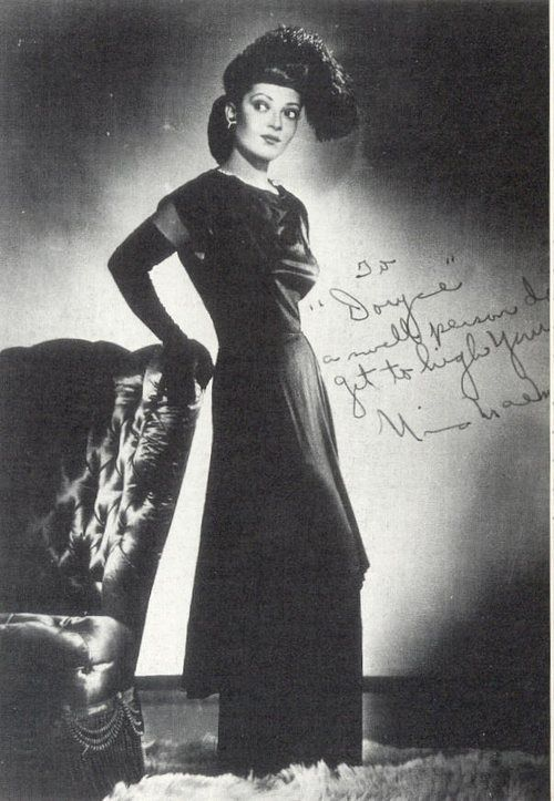 Nina Mae McKinney (June 13, 1912 – May 3, 1967) was an American actress who worked internationally during the 1930s and in the postwar period. McKinney was one of the first African-American film stars in the United States, as well as one of the first African Americans to appear on British television.