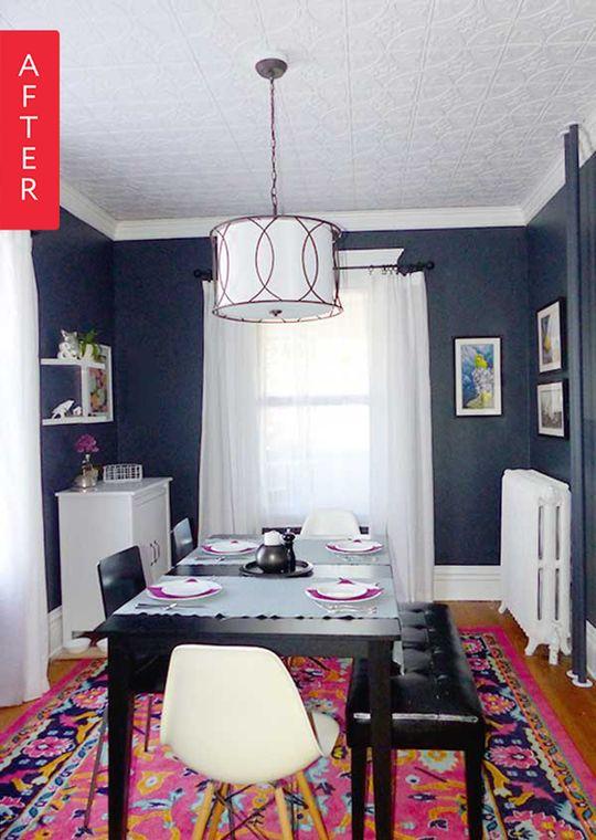 Before after lisa 39 s 1 000 dining room makeover room for D room dining room blankenberge