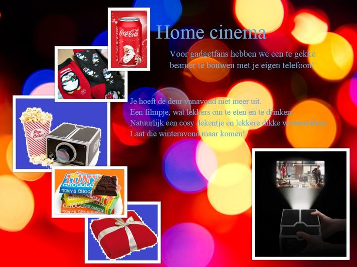 Filmavond-pakket - prijzen vanaf 24,95