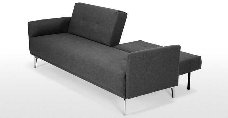 Akio Cygnet Grey Sofa Bed | made.com