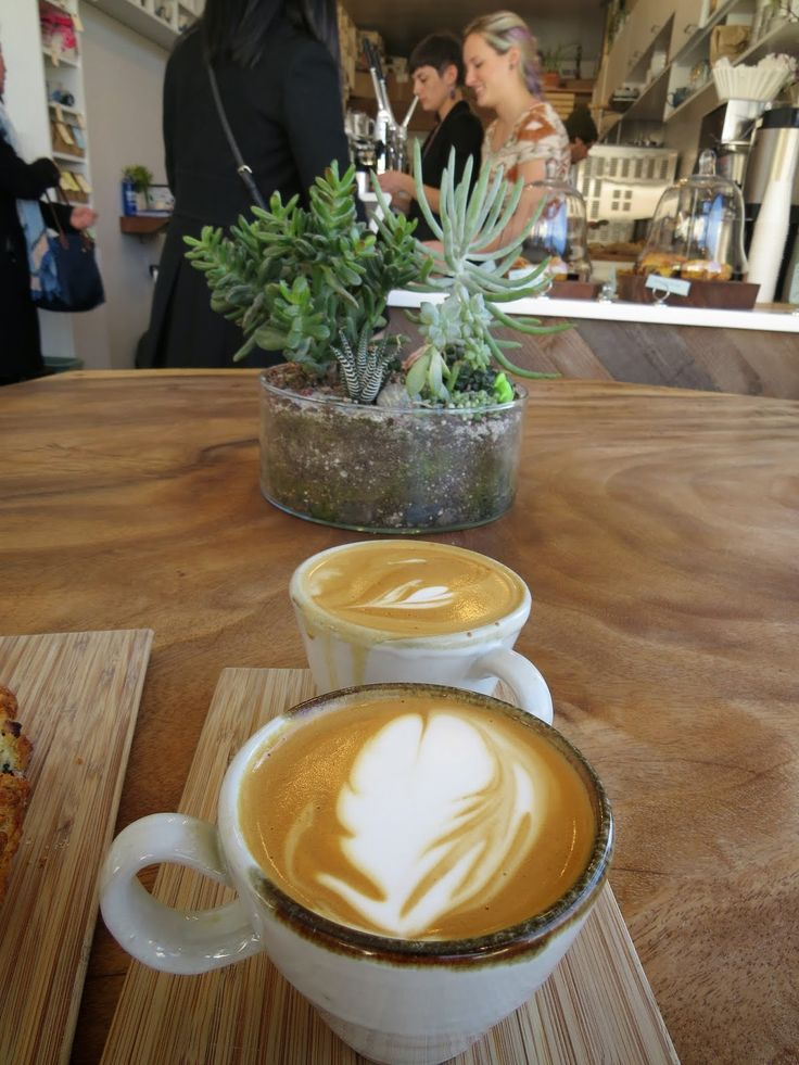 Cappuccino at Andytown Coffee Roasters in San Francisco