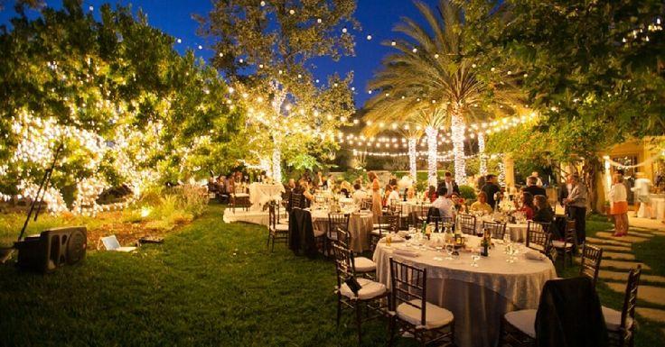 How To Plan An Outdoor Wedding 10 Planning Mistakes: Best 25+ Backyard Wedding Receptions Ideas On Pinterest