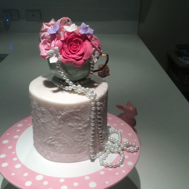 Celebration cake for a Kitchen Tea