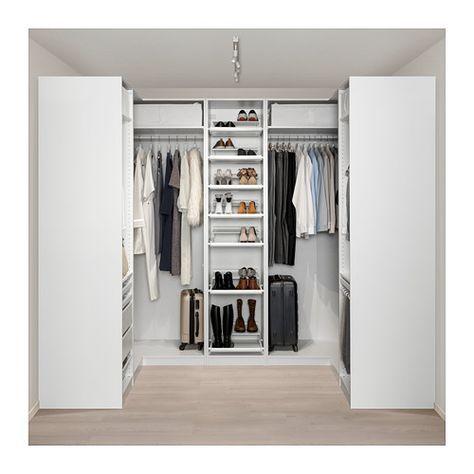 Furniture and Home Furnishings Pax corner wardrobe