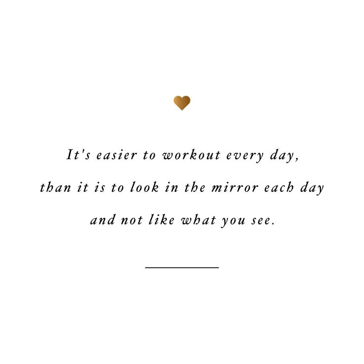 Love your reflection! Browse our collection of inspirational exercise quotes and get instant weight loss and training motivation. Transform positive thoughts into positive actions and get fit, healthy and happy! http://www.spotebi.com/workout-motivation/love-your-reflection-weight-loss-motivation-quote/