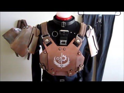Fallout 4 Cosplay Overview - Brotherhood of Steel Combat Armor and Offic...