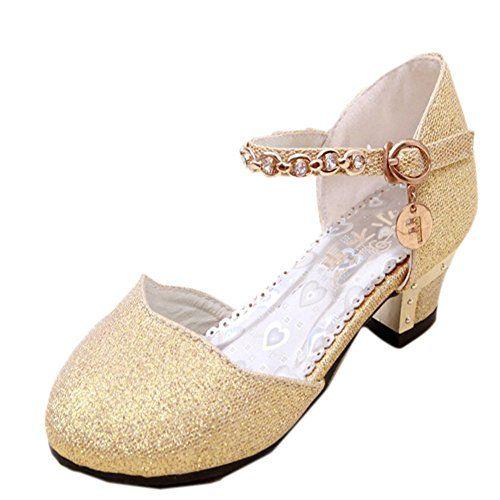 MEXI Festliche Kinder Kinder shoesprincess Snow Queen Gelee Partei Schuhe Sandalen Mädchen niedrigen Ferse Partyschuhe Diamante Glitter Brautjungfern - http://on-line-kaufen.de/mexi-2/35-eu-mexi-festliche-kinder-ballerina-schuhe-in-5