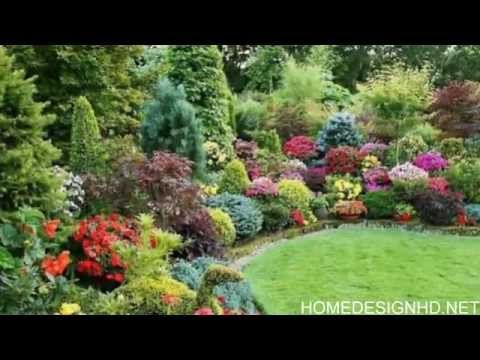 25 inspirational backyard landscaping ideas my garden for Flower garden designs and layouts