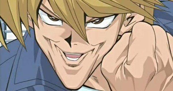 Yu Gi Oh Animation Director Confirms Joey Chin Is Inspired By Wrestler Antonio Inoki Yugioh Cartoon Art Creepy Smile