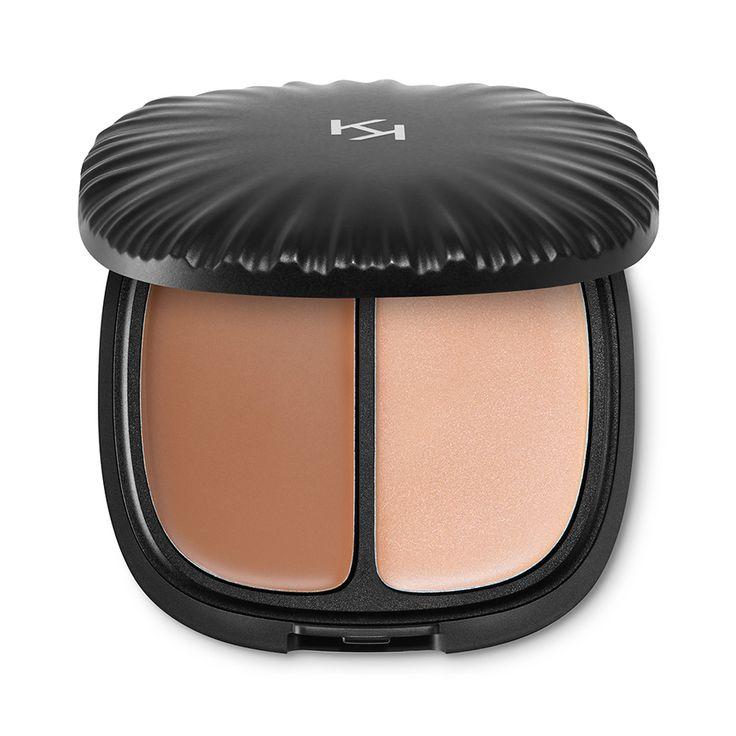 Palette per il contouring del viso - Strobe & Sculpt Cream Contour Palette – KIKO MILANO