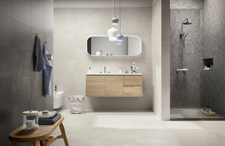 #Ragno #Studio Antracite 30x60 cm R4QK | #Gres #cemento #30x60 | su #casaebagno.it a 27 Euro/mq | #piastrelle #ceramica #pavimento #rivestimento #bagno #cucina #esterno