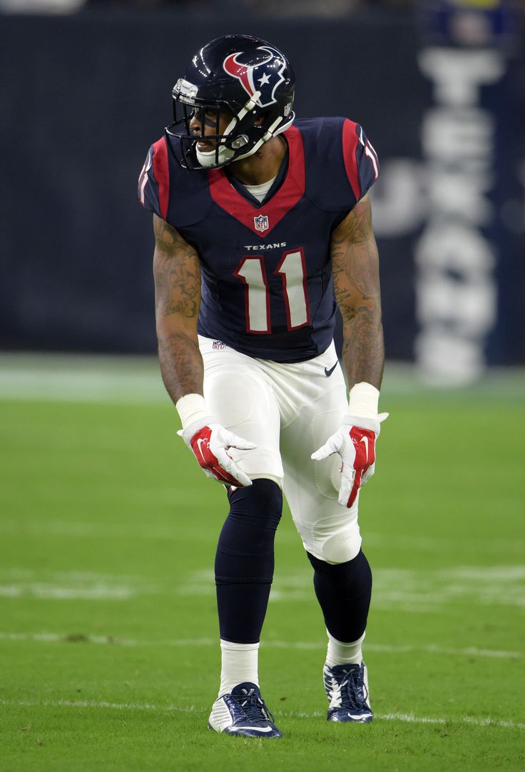 Aug 15, 2015; Houston, TX, USA; Houston Texans receiver Jaelen Strong (11) during the preseason NFL game against the San Francisco 49ers at NRG Stadium.  (2527×3718)