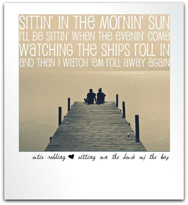 Lyrics containing the term: docks