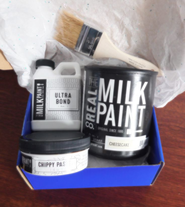 Real Milk Paint Quart, Chippy Paste and Ultra Bond Gift Set