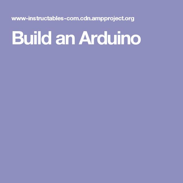 54 best Arduino images on Pinterest Arduino projects, Arduino and