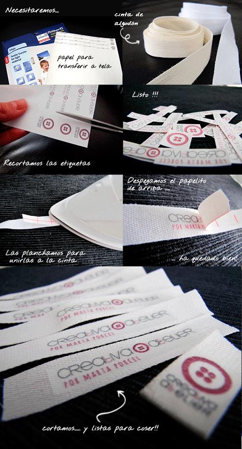 Etiquetas para personalizar tus proyectos DIY