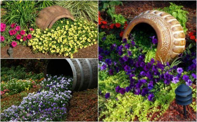 Rozlewajace Sie Kwiaty Czyli Zjawiskowy Dodatek Do Twojego Ogrodu Garden Features Garden Arch Garden