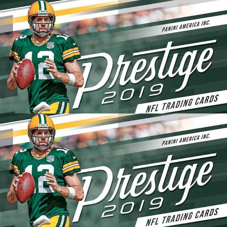 2019 Panini Prestige Football Checklist, NFL Set Info