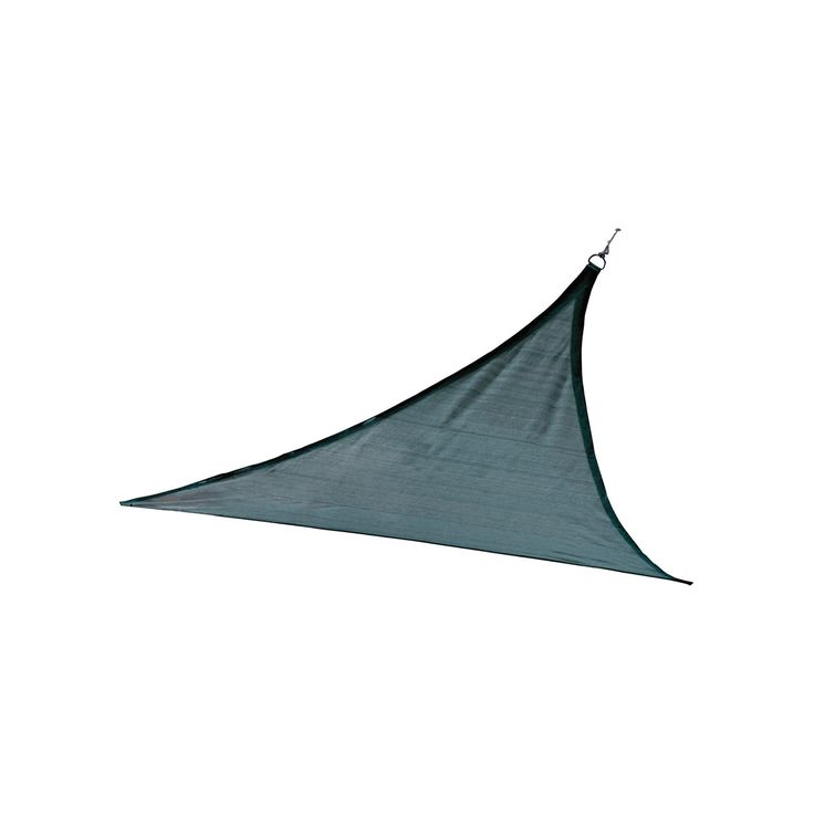 Shelter Logic Triangle Sun Shade Sail Sea Blue 16' 230 gsm