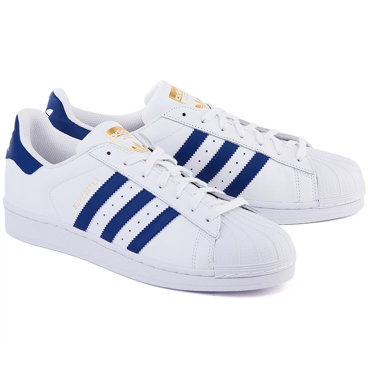 ADIDAS Superstar Foundation - Białe Skórzane Sportowe Męskie #mivo #mivoshoes #shoes #buty #men #adidas #superstar #white #color #sport #fashion #style #stylish #streetlook #street #new #season #collection #fall #winter #2015 #2016