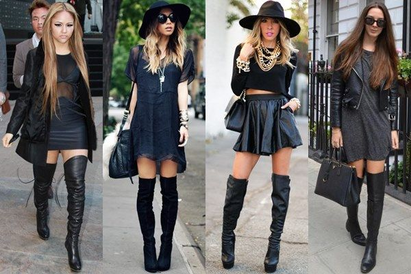 Thigh high boots, High boots and Thigh highs on Pinterest