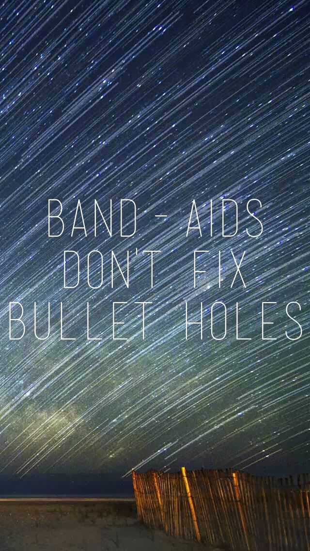 TAYLOR SWIFT ♥ 1989-BAD BLOOD Band-aids don't fix bullet holes